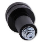 shin_yo SHIN YO Styrvikt, svart, räfflad, för stålstyre