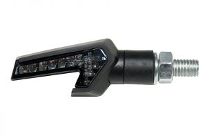 SHIN YO LED Blinker STRADA, schwarz, E-gepr.