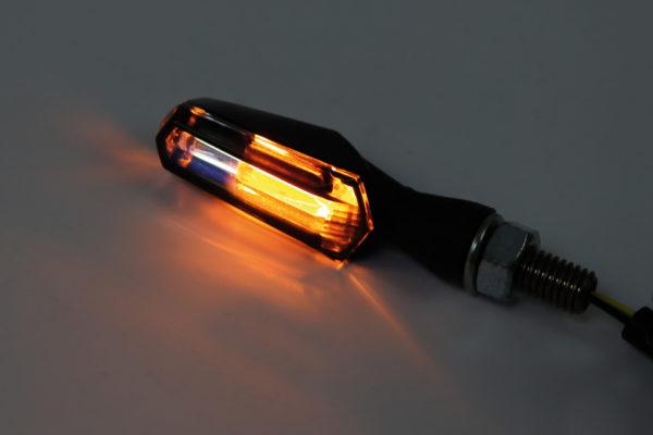 SHIN YO LED Blinker/Positionslicht SCURO, getöntes Glas