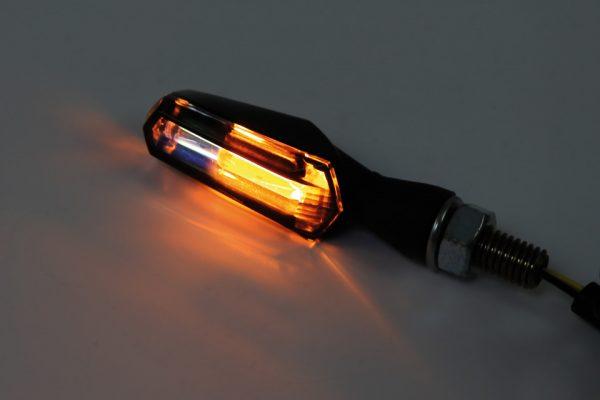 shin_yo SHIN YO LED blinkers/fram SCURO, rökfärgat glas