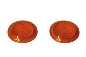 shin_yo SHIN YO blinkersgläser för BULLS-Eye-blinkers, gul, främre glas