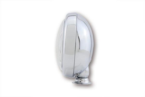 SHIN YO 4 1/2 Zoll Fernscheinwerfer, flaches Gehäuse, verchromt