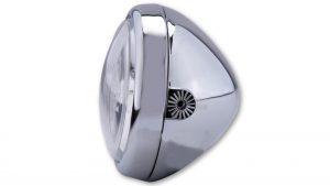 shin_yo SHIN YO 4 1/2 tum strålkastare med Bilux-glödlampa, förkromad, sidomontering, E-märkt