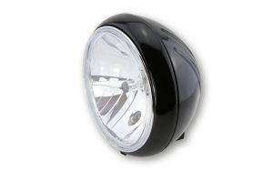 SHIN YO 7 tum YUMA huvudstrålkastare, glänsande svart