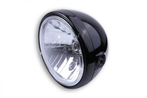 SHIN YO 7 tum strålkastare SANTA FE, glänsande svart