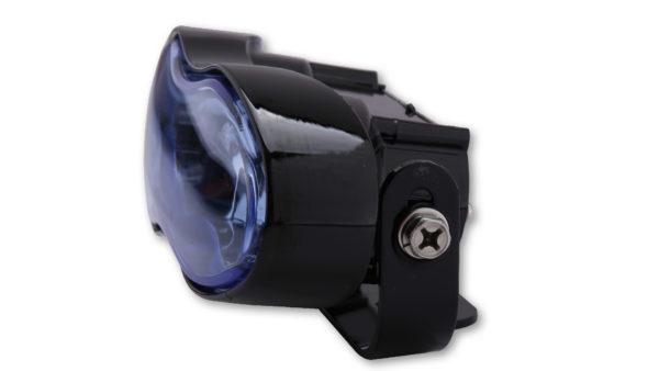 SHIN YO hel- och dimljus, svart, blått glas, 2x H3 55W