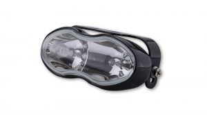 Fern- und Nebelscheinwerfer, schwarz, 2x H3 55W - klar