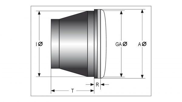 shin_yo SHIN YO Strålkastarinsats med positionsljus fram, 90 mm
