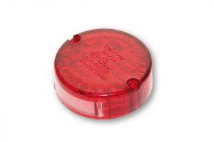 Glas für Rücklicht NEW SPARTO von SHIN YO, rot