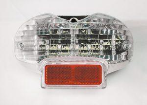shin_yo SHIN YO LED-bakljus med transparent glas, Suzuki Bandit 600 00-, 1200 01-