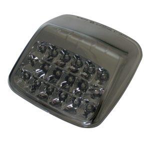 shin_yo SHIN YO LED-bakljus, rökfärgat glas och kromreflektor, Harley Davidson V-Rod 02-08