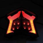 shin_yo Tylne światło LED KAWASAKI Z 900, Z 650, NINJA 650, rok 17-
