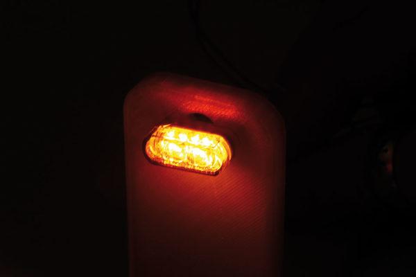 shin_yo Światło tylne SMD, światło hamowania, kierunkowskaz MODUŁ 1 PRO, szyba przyciemniana, para