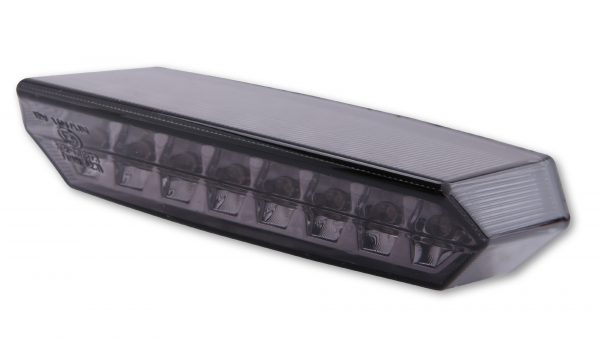 schwarz klares Glas SHIN YO LED-Ruecklicht MULTIFLEX