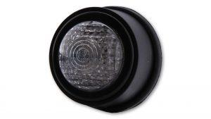 shin_yo SHIN YO LED-bakljus OLD SCHOOL TYP2, svart, transparent glas, E-märkt