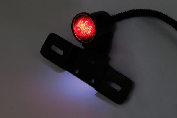 shin_yo SHIN YO LED-bakljus OLD SCHOOL TYP6 med justerbar regskyltshållare