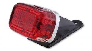 shin_yo GS mini światło tylne, rozmiar szyby 47x 67mm, z uchwytem, wraz z oświetleniem tablicy rejestracyjnej