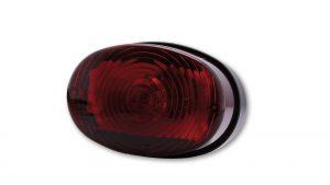 shin_yo SHIN YO universal bakljus OVAL, rött glas