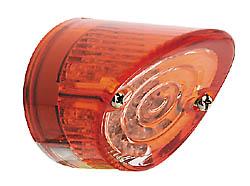 LED-Mini-Rücklicht NOSE, rund