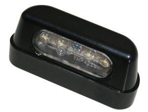 shin_yo SHIN YO LED-regskyltsbelysning, ABS svart