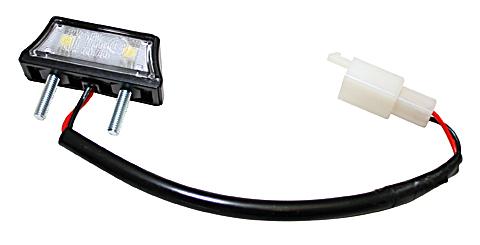 shin_yo Oświetlenie tablicy rejestracyjnej LED, czarne