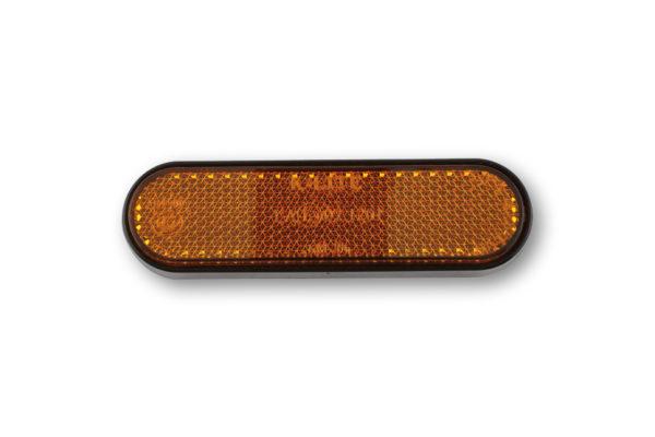 shin_yo Owalny reflektor na widelcu, żółty