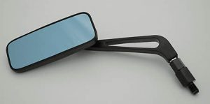 Spiegel, Aluminium - schwarz
