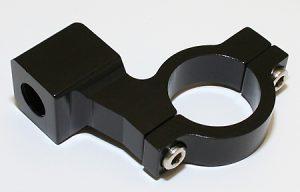 SHIN YO Spiegelschelle mit Rechtsgewinde für CNC - schwarz